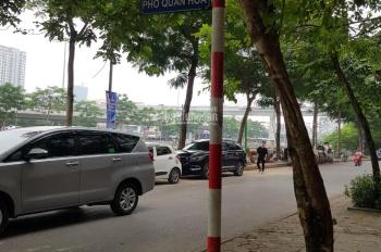 Bán nhà cấp 4 ngõ 21 Quan Hoa, DT 126m2, MT 7m, ngõ thông. Cách phố 20m, giá 9 tỷ