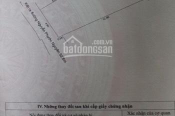 Chủ nhà muốn bán nhanh lô đất kiệt 3m đường Nguyễn Phước Nguyên, phường An Khuê, Thanh Khê