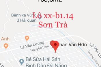 Gia đình tôi cần tiền bán lô đất biển 2 mặt tiền đường Phan Văn Hớn khu Sơn Trà, Đà Nẵng