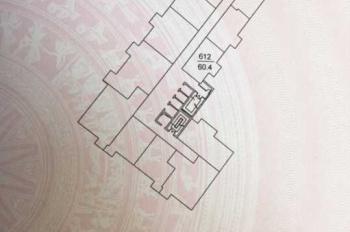 Chính chủ cần bán căn hộ chung cư tầng 6 165 Thái Hà đã có sổ đỏ, diện tích 61m2, 2 PN, 1WC