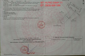 Bán đất chính chủ MT Hưng Định 11, Thuận An, Bình Dương. ĐT: 0939666588