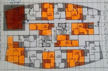 Bán căn hộ CC CT2 Yên Nghĩa, Hà Đông căn 63,66m2, 2PN, ban công ĐN giá 10,9tr/m2 (LH 0968088365)