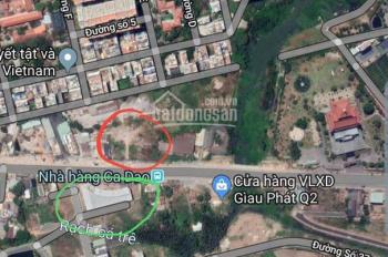 Tôi cần bán gấp đất xây văn phòng 9 tầng mặt tiền đường Lương Định Của, An Phú, quận 2