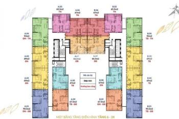 Bán căn hộ suất ngoại giao rẻ nhất dự án Athena Complex Pháp Vân, LH: 0904.659.177