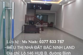 Cho thuê nhà 5 tầng, full đồ, 2 mặt tiền mặt đường Quốc Lộ 38 tại Bắc Ninh