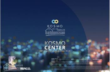 Bán lô shophouse chân đế dự án Kosmo Tây Hồ DT 149.81m2, hỗ trợ 70%/lô với lãi suất 0% 24 tháng