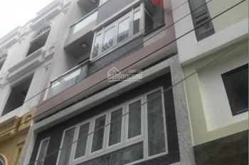 Nhà MT HXH đường Chu Văn An, Phường 26, Bình Thạnh, 4x20m, trệt, 3 lầu, 7 phòng