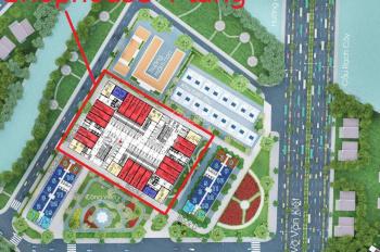 Bán gấp căn góc shophouse 2 MT, dự án Diamond Riverside, T6/2020 nhận nhà kinh doanh
