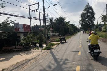 Bán đất MT QL22 ngay ngã 3 Cây Trôm, sát trường học Phước Hiệp, giá 800tr/80m2, SHR, LH 0898698297