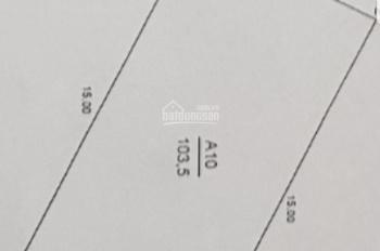 Bán gấp mảnh đất mặt phố Dịch Vọng Hậu - Trần Thái Tông. DT 105m2, MT 6,9m, làm VP, công ty
