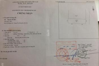 Chính chủ cần bán gấp lô đất đẹp ngõ thông tại ngõ 255 Lĩnh Nam, Hoàng Mai, Hà Nội