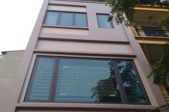 Chính chủ bán nhà 7 tầng mới xây mặt phố Nguyễn Văn Huyên, có thang máy, nội thất cao cấp