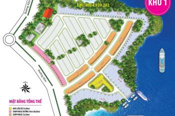 Cần bán nhanh lô đất khu 1, tại Long Hưng, giá 15tr/m2, hướng Tây Nam, lô Rd40, LH: 0914.920.202
