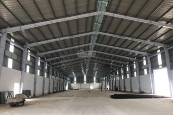 Cho thuê kho xưởng mới xây dựng nằm ngay mặt tiền Quốc Lộ 1A trong trung tâm thị trấn Bến Lức
