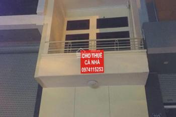 Cho thuê nhà 91 ngõ 12, Đào Tấn, 41m2 x 3 tầng, giá 8tr/th