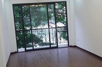 Bán nhà mặt hồ Hoàng Cầu, Đống Đa, vỉa hè, kinh doanh, thang máy 45m2, 5 tầng, 11 tỷ 0394186789