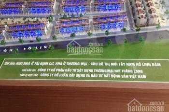 Chính chủ bán liền kề Tây Nam Linh Đàm, 80m2 và 100m2, đường 25m, 0945.84.3333