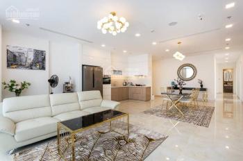 Cho thuê CH Vinhomes Central Park, 4 phòng 155m2  nội thất cao cấp view sông, LH 0977771919