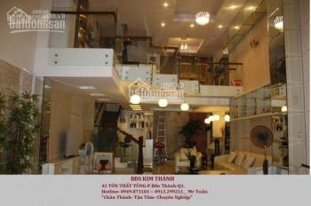 Cho thuê nhà mặt tiền Nguyễn Hồng Đào gần ngã tư Bàu Cát, Phường 14, DT 4,8mx21m, trệt, 3 lầu