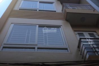 Chính chủ cho thuê nhà 5 tầng mới xây ngõ 117 Trần Cung 60m2/sàn nội thất trên CB, giá thuê 9tr/th