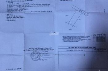 Bán đất đường Mai Thị Dõng, Hòn Nghê, Nha Trang, sát ĐH TBD, DT 130m2 - giá 11,5 tr/m2