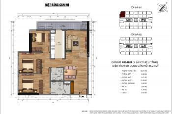 Chính chủ bán căn 88m2 - 3 phòng ngủ chung cư 90 Nguyễn Tuân