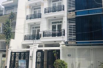 Nhà mới 2 lầu mặt tiền Chu Văn An, 4 x 15m, SHR, có sân ô tô, đường xe tải lách nhau có vỉa hè