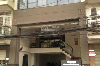 Cho thuê nhà Nguyễn Khả Trạc 5 tầng, 75m2, 22 tr/th. Đường rộng 8m, 2 ô tô đỗ để trong nhà