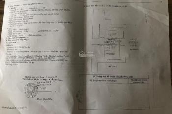 Chính chủ bán đất trống hẻm 481 Tân Kỳ Tân Quý, Phường Tân Quý, Tân Phú, Hồ Chí Minh