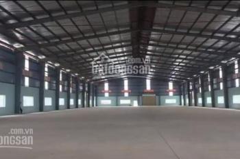 Cho thuê 300m2, 500m2, 2000m2, 5000m2 nhà kho, xưởng gần ga Thường Tín, Hà Nội