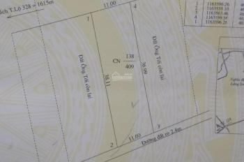 Cần bán đất thị trấn Phước Bửu, DT 11x38m, đất 2 mặt tiền trước sau, đường nhựa rộng 10 mét