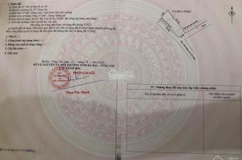 Bán đất hẻm 183 đường Lưu Chí Hiếu, P10, TP. Vũng Tàu. DT 97m2, giá 2.45 tỷ