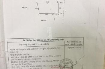 Cần bán gấp căn nhà 1,5 tầng, ngõ 229 Hàng Kênh, hướng Đông Nam, LH: 0969596410