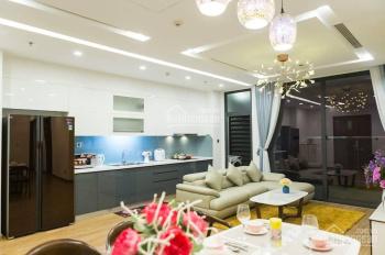 Cho thuê CHCC Vinhomes Liễu Giai, căn góc tòa M2 tầng 21, 110m2, 3PN, vừa xong NT. LHTT: 0896615065