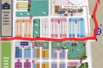 Chủ bán 2 căn nhà phố suất nội bộ Sim City, 5x16m, dãy N, Q, S, giá 4.363 tỷ/căn, LH: 0913656738