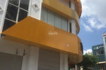 Cho thuê siêu vị trí nhà góc 2 MT Sư Vạn Hạnh kề Vạn Hạnh Mall, P12, Q10. (4.6x20m), hầm, 5 lầu