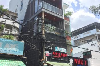 Cho thuê nhà góc 2 mặt tiền Ngô Quyền - Hòa Hảo, Quận 10. (4x18m) 6 lầu mới, mỗi lầu 1 sàn lớn