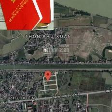Bán đất nền có sổ đỏ Đại lộ Nam Sông Mã, cách bãi biển Sầm Sơn 6km, chỉ 7 triệu/m2. LH 097131833