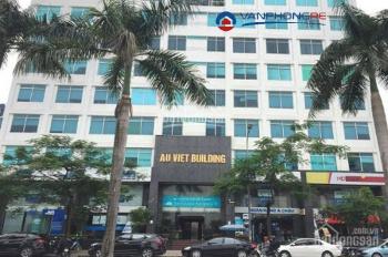 Cho thuê văn phòng tòa nhà Âu Việt Lê Đức Thọ diện tích đa dạng