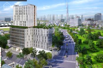 Cho thuê văn phòng tòa nhà Grand A khu sân bay 180m2 - 84tr/th Phan Đình Giót. Thanh 0965154945