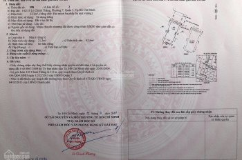 Bán nhà 142/15 Lý Chính Thắng, P7, Q3, HCM. 54m3 sử dụng, 3.8 tỷ 0936 449 799