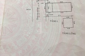 Bán nhà 160/32 Lê Thúc Hoạch, 4x11m trệt + lửng hẻm xe hơi 8m thông giá 4.6 tỷ