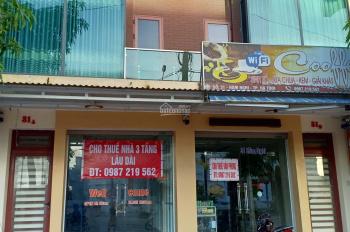 Chính chủ cần cho thuê nhà 3 tầng tại 31 Hàm Nghi, thành phố Hà Tĩnh