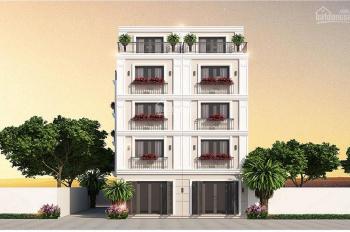 Bán nhà phường Phúc Lợi, nhà xây 4,5 tầng, xây dựng kiên cố, tường riêng móng riêng. Sổ đỏ cầm tay