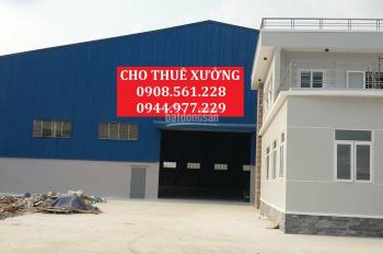 Cho thuê nhà xưởng đường Võ Văn Bích, huyện Củ Chi, DT: 500m, 1000m, 2000m, 3000m2. LH 0944.977.229