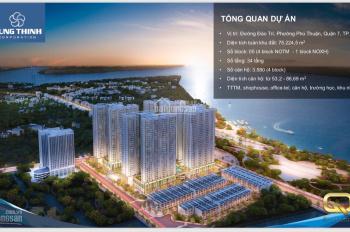 Căn hộ Q7 Saigon Riverside view 3 MT sông, MT Đào Trí, full nội thất cao cấp. LH PKD CĐT 0903339659