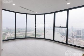 Cho thuê căn hộ Vinhomes Ba Son Golden River, 121m2, 3PN, nhà trống view sông ở ngay. 0977771919