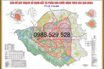 Bán đất khu Công Nghệ Cao Láng Hòa Lạc, kho nhà xưởng, nghỉ dưỡng sổ đỏ DT 200m, 1000m2