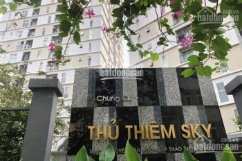 Cho thuê căn hộ Thủ Thiêm Sky, Thảo Điền, Quận 2, 70m2, 2PN, 2WC, 10 tr/th, LH: Sơn (0944369198)