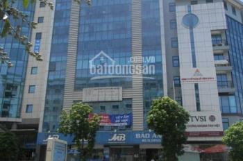 Cho thuê văn phòng tòa nhà Bảo Anh 62 Trần Thái Tông, Cầu Giấy. DT 250m2, LH: 0983.338.565